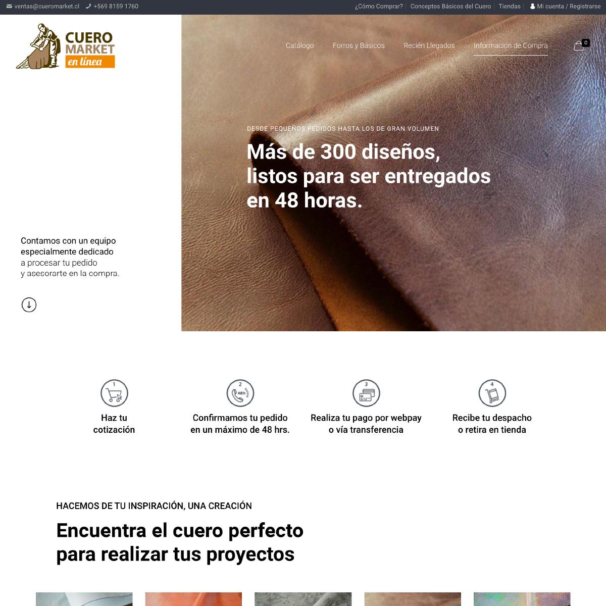 web-site-cueromarket-ecommerce-woocommerce-chile