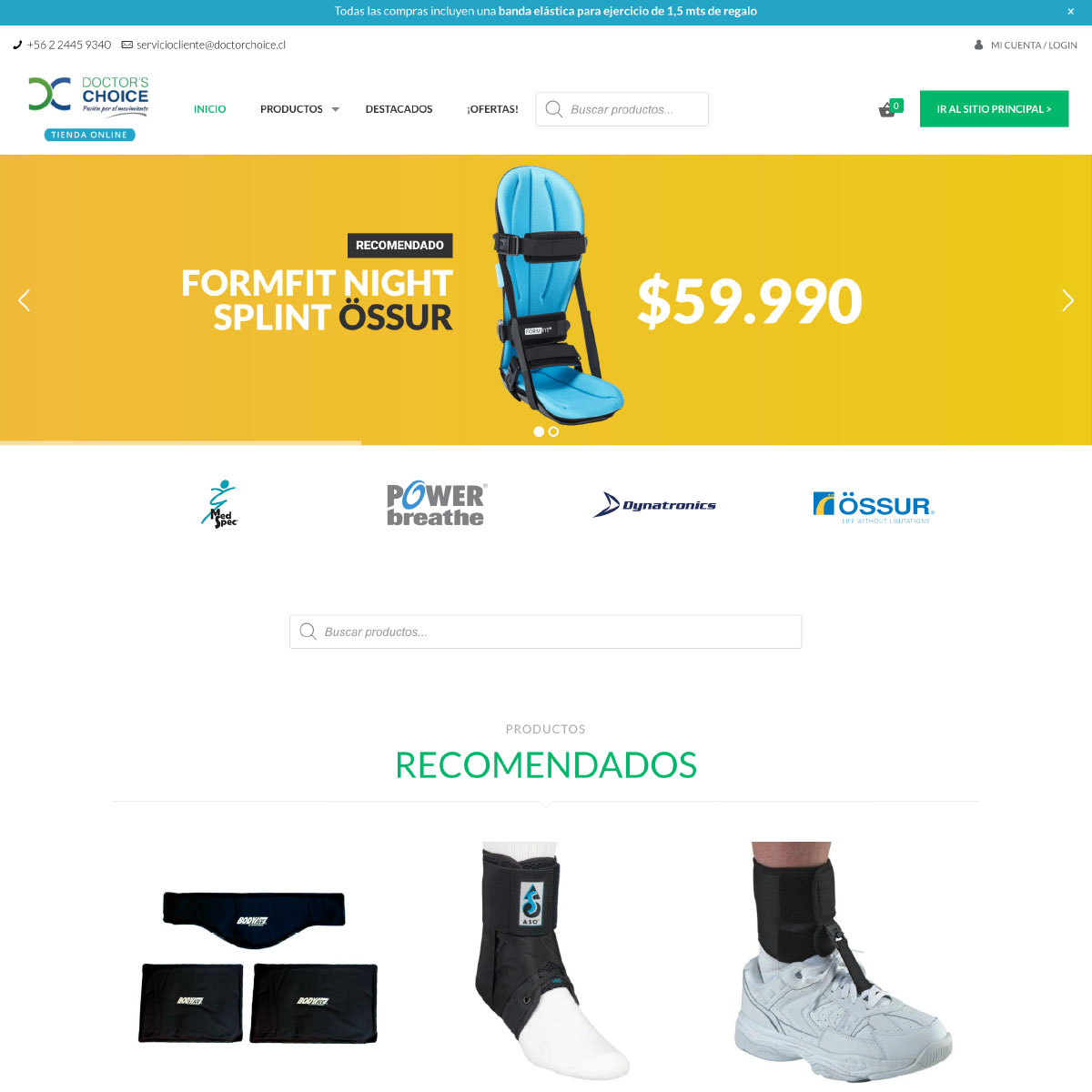 web-site-doctorchoice-ecommerce-woocommerce-chile